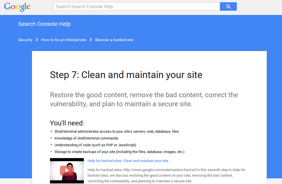 clean_and_maintain_your_site