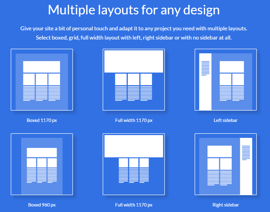 Multiple Layouts and Styles
