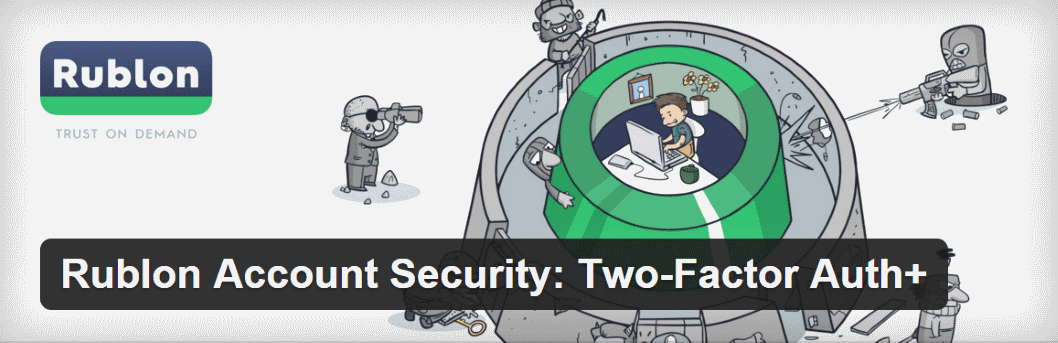 Rublon Account Security Two-Factor Auth