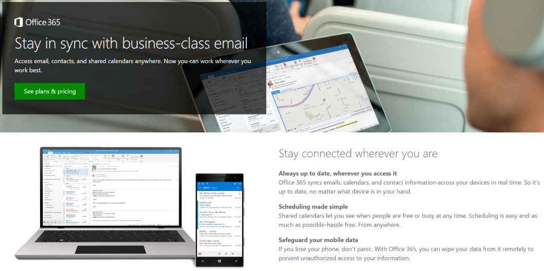 Office 365 Email and Calendar